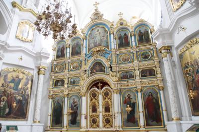 2019年ベラルーシとモスクワ旅行2日目(1)独立広場~自由広場と山の手エリア&聖シモン聖エレーナ教会(Red Church)と聖霊大聖堂