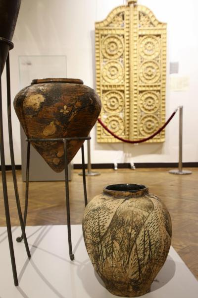 2019年ベラルーシとモスクワ旅行2日目(3)国立歴史博物館(前編)石器時代の出土品や中世文化・教会宝物からを現代フォークアート作品展など