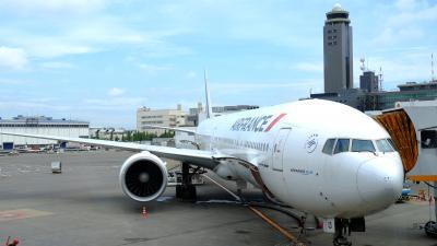 650ユーロで乗っちゃいました。エールフランス274便 ビジネスクラスの旅