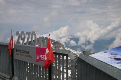 スイス個人旅行⑥  0703  ミューレン1(シルトホルン)