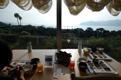 17.夏の紀伊半島3泊 ホテル&リゾーツ和歌山 串本(旧:串本ロイヤルホテル) レストランソレイユのバイキングの朝食