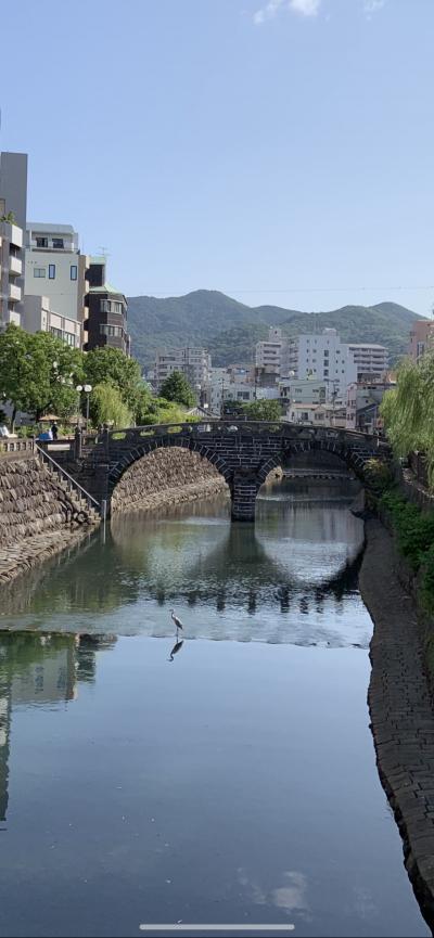 長崎教会巡りと食べ歩き④めがね橋から平和公園まで1日で市内をまわる