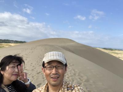 2019鳥取1泊2日②鳴り石の浜・倉吉白壁土蔵群・白兎海岸・鳥取砂丘