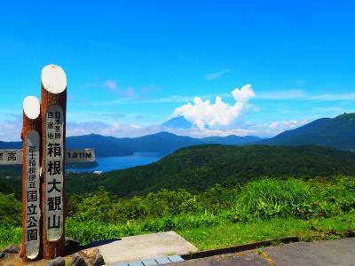 芦ノ湖から箱根大観山を巡る!2019夏旅③