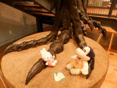 グーちゃん、福井へ行く!(恐竜博物館から越前大野へばもーす!編)