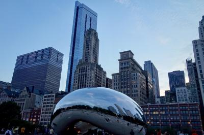 シカゴ4日間満喫旅行②(ギャランティードレートフィールド+ミレニアムパーク)