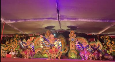 ププタン広場のイベント、ガムラン&バリ舞踊!