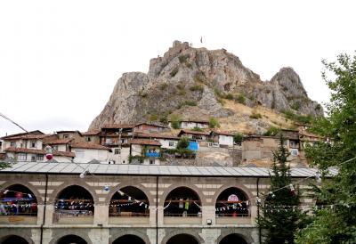 2019.8トルコの知人を訪ねる11-Tokatへ 14世紀の墓など 隊商宿跡Tashan