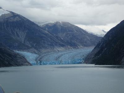 DCL:ワンダー号7泊2019.9アラスカクルーズ⑥ジュノー、ドーズ氷河。お天気って大事。