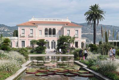 フレンチ リヴィエラの豪華邸宅、ロスチャイルド邸とヴィラ ケリロスを見学