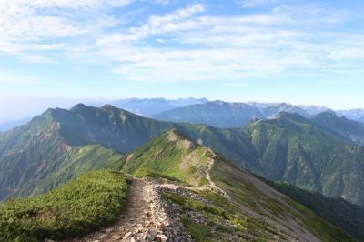 鹿島槍ヶ岳に登ってきました。