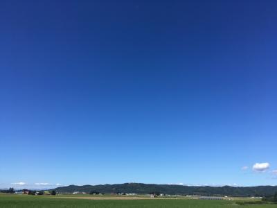 ★今日は帯広に来たよ★②  十勝晴れ 幕別でお散歩