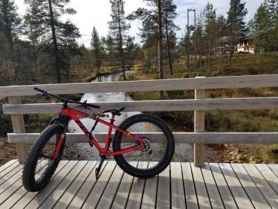 2019.09 ウルホ・ケッコネン国立公園を徒歩とファットバイクで@サーリセルカ