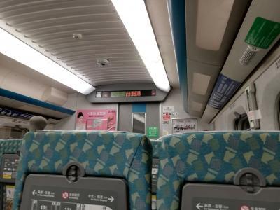 左営から台湾高鉄で台中へ