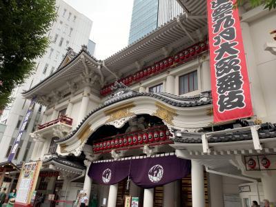 歌舞伎座見学の後は「パリのワイン食堂」でランチをして最後はお洒落なガード下へ