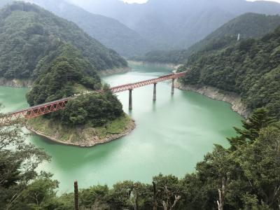 2019 初めての寸又峡温泉と奥大井湖上駅、長島ダム