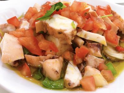 ポルトガルといえばタコ料理