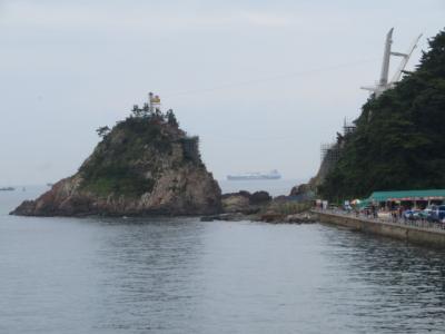 韓国 「行った所・見た所」 釜山のサムウォンジャンモーテル(三原荘)に宿泊して岩南公園に