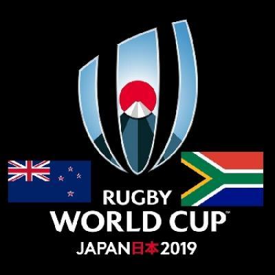 ラグビーワールドカップ日本のニュージーランド対南アフリカ戦を観戦~もちろんビールぐびぐび!だ。高い!