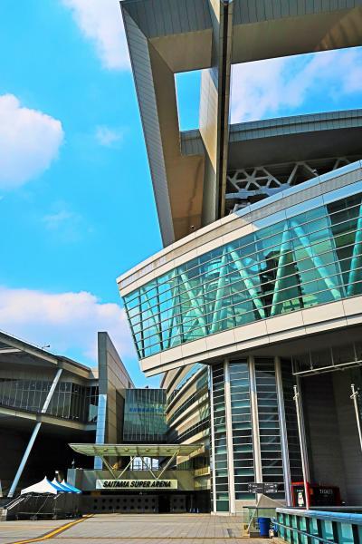 さいたま新都心-1 最先端の都市基盤整備-近代的空間 ☆スーパーアリーナ/合同庁舎など
