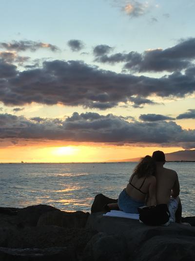 一筋の光。 ハワイ  その2  光シリーズ