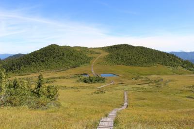 初秋の尾瀬沼(燧ヶ岳登山と猿楽台地のそばの花畑)に行ってきました