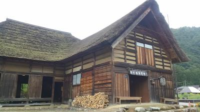 南会津町前沢(まえざわ)曲家集落と蕎麦を食べました。
