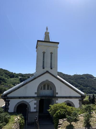 長崎教会巡りと食べ歩き⑤苦行?外海の大野教会、出津教会、枯松神社をローカルバスでまわる