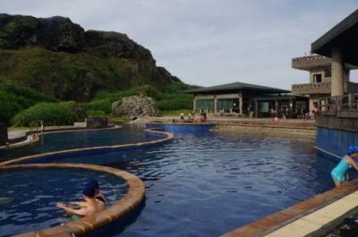 台湾で温泉ハシゴプチ休暇     緑島朝日温泉&知本温泉