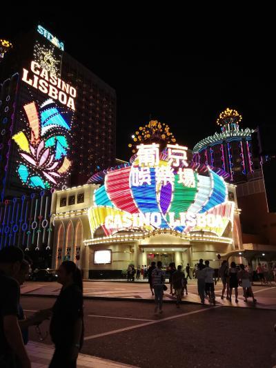 香港→中国(珠海)→マカオ ALL陸路で国境越え&カジノ夜景めぐりの旅