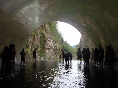 日帰りバスツアーで行く「清津峡&越後湯沢アルプの里」