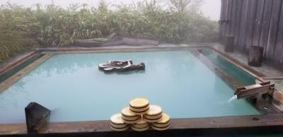 霧の万座温泉 日本一の硫黄泉 体験の旅