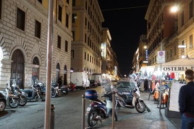 イタリア初日