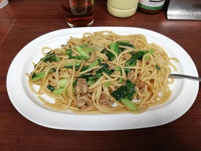 たまにはベタな名物店めぐり1906 「ジャポネのスパゲティ&はと屋&木村家のあんぱん&六文そば&かぶら屋黒おでん」  ~東京~
