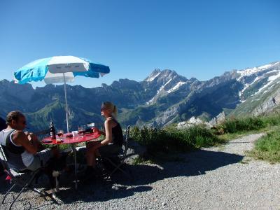 2019夏のスイス旅【50】エベンアルプから予定外のハイキングコースへ