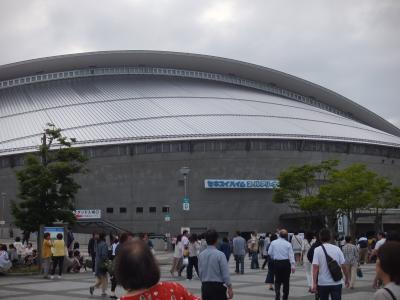 母と仙台で満喫したコンサート