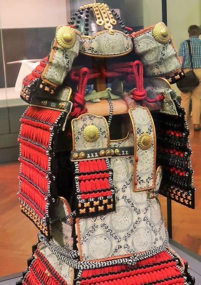 上野-3 東京国立博物館 日本のよろい!(親と子のギャラリー)☆甲冑の製作工程/特別展示