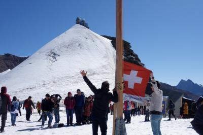 憧れのスイスアルプス5連泊【3】 晴天のユングフラウヨッホ&のんびりハイキング&ビール
