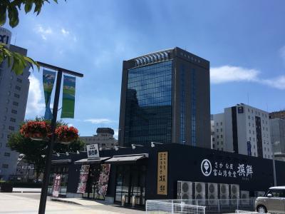 8月富山駅 ブラブラしてみた。
