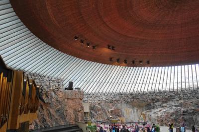 2019夏の北欧その13~ヘルシンキの3つの教会とシベリウス公園