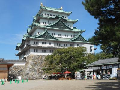 名古屋観光、豪華絢爛の本丸御殿ができた名古屋城へ。