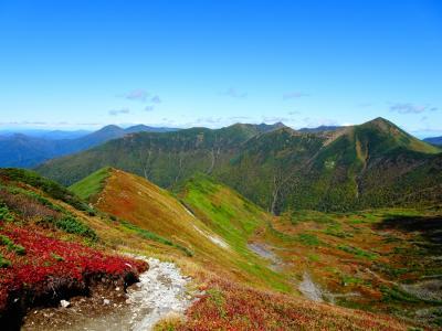 幌尻岳&十勝岳登山
