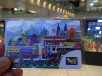 Touch'n GO (タッチンゴー) と digi prepaid SIM クアラルンプール観光に便利です