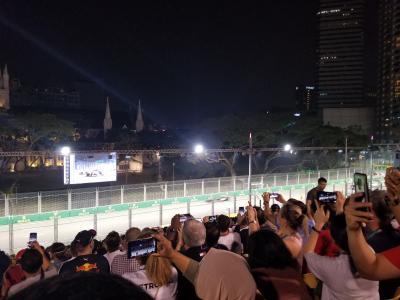 JGC修行でシンガポールF1観戦①まずは観光編
