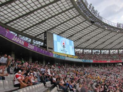 ラグビーワールドカップ 2019 日本開催!! 開幕戦に行ってきました!!