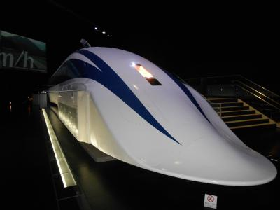 名古屋、リニア・鉄道館は、展示車両がたくさん。中に入れる列車も多いです。