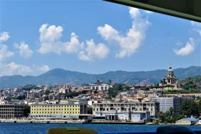 魅惑のシチリア×プーリア♪ Vol.577 ☆メッシーナ:カーフェリーでカラブリア州へ さようならシチリア♪