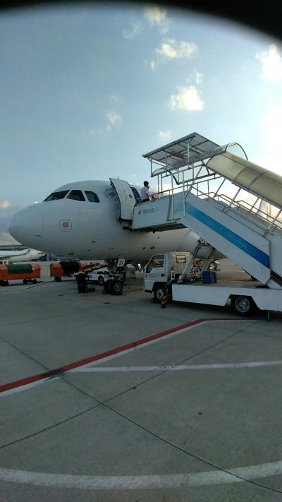 嫁の実家に一人旅④福清から帰国。中国東方航空5600便&527便ビジネスクラス搭乗記