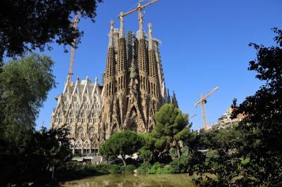 夏旅バルセロナ、サグラダファミリアをさらに感じた!!