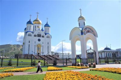 2019年9月 久しぶりの弾丸女一人旅 e-visaで行きやすくなったユジノサハリンスクその5 復活主教座聖堂、黒猫レストラン、市場、帰国